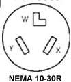 N 10 30R the 30 amp 120 volt 2 pole 3 wir nema 10 30r wiring diagram at webbmarketing.co