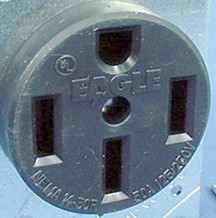 The 50-amp 120/240-volt 3 pole 4 on
