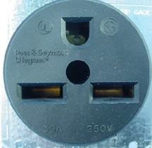 N 6 30R 250 volt the 30 amp 120 volt 2 pole 3 wir 3 wire 220v plug diagram at soozxer.org