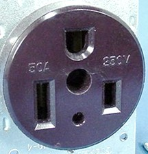 the 50 amp 120 240 volt 3 pole 4